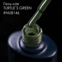 Гель-лак NUB 146 TURTLE`S GREEN, 8 мл