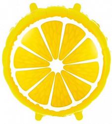 Лимон фольгированный шар с гелием