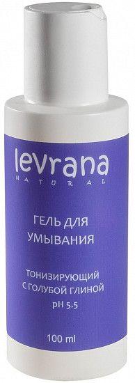 Гель для умывания Матирующий с голубой глиной MINI Levrana (Леврана) 100 мл