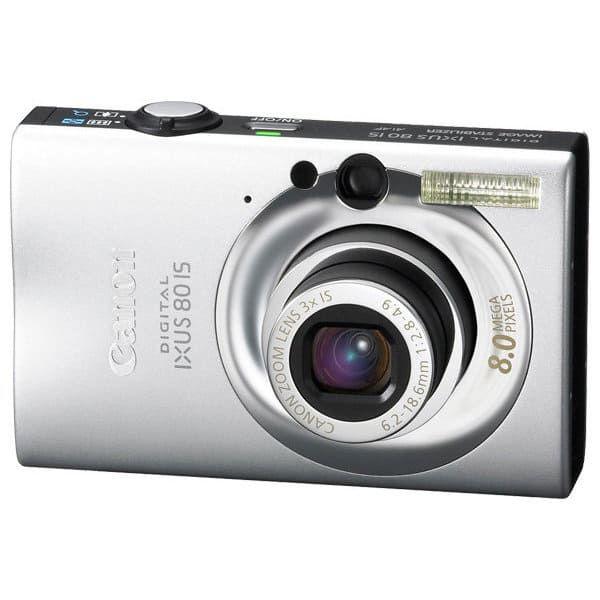 Цифровой фотоаппарат Canon IXUS80IS/P