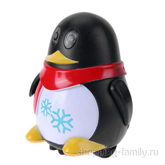 Индуктивная игрушка Пингвин с LED сенсором, черный