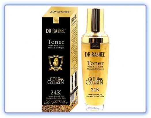 Гель-тонус для лица Dr Rashel Toner 24K Gold & Collagen