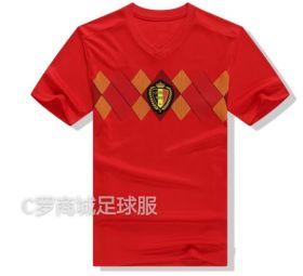Домашняя игровая футболка сборной Бельгии по футболу на чемпионат мира 2018 года