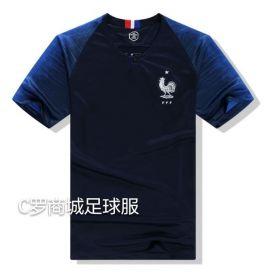 Домашняя игровая футболка сборной Франции по футболу на чемпионат мира 2018 года