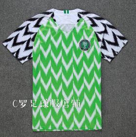 Домашняя игровая футболка сборной Нигерии по футболу на чемпионат мира 2018 года