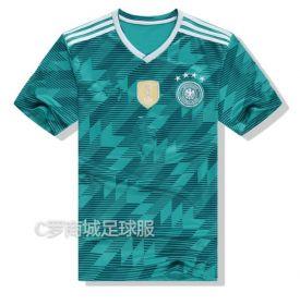Гостевая игровая футболка сборной Германии по футболу на чемпионат мира 2018 года