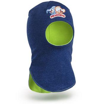 Шапка-шлем для мальчика(трикотаж)  2-5 лет №SG057