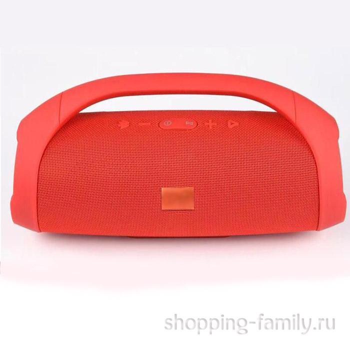 Портативная беспроводная колонка Boombox mini, цвет красный