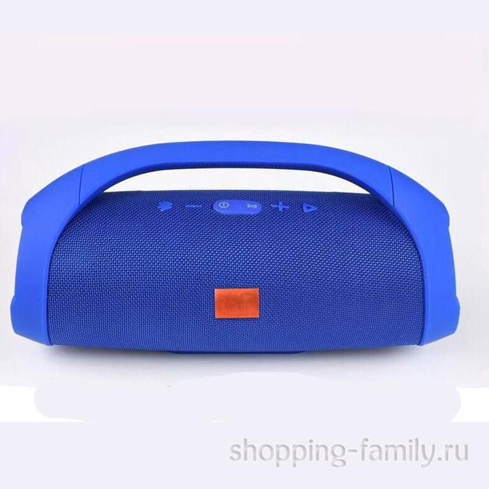 Портативная беспроводная колонка Boombox mini, цвет синий