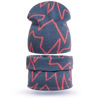 Комплект детский  шапка-снуд  3-5 лет №SG117