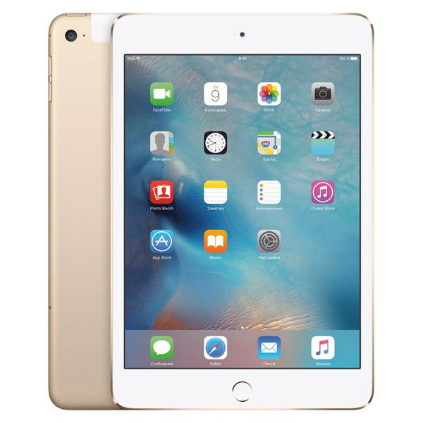 iPad mini 4 Wi-Fi Cellular 128GB Gold