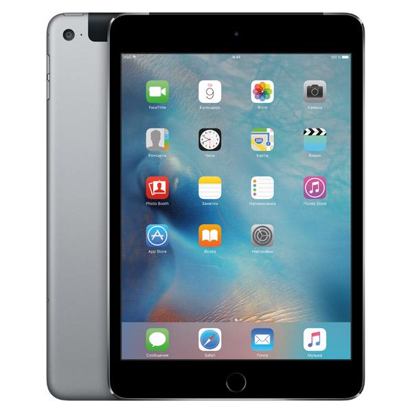 iPad mini 4 Wi-Fi+Cellular 128GB Space Gray