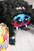 мохнатая игрушка паук