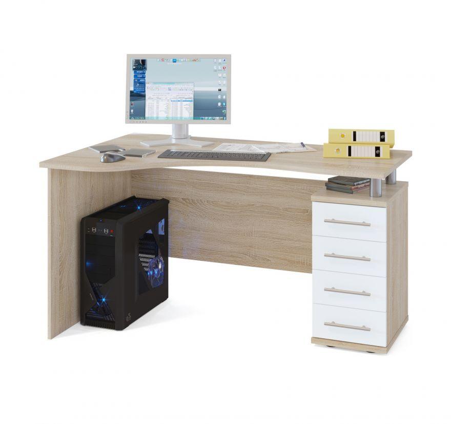 Угловой письменный стол КСТ-104.1 СОКОЛ