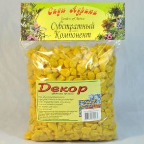декор /цв.крошка/ 1л желтый ()