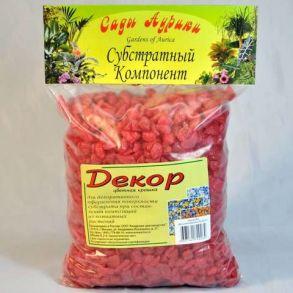 декор /цв.крошка/ 1л красный ()