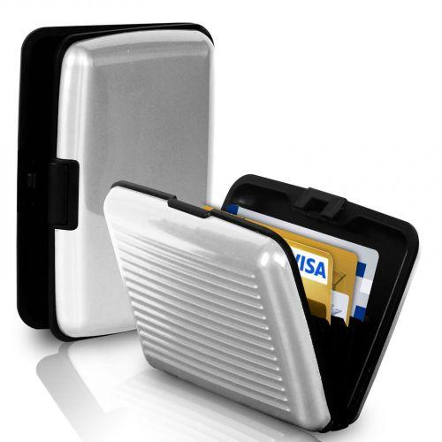 Кейс Для Кредитных Карт Security Credit Card Wallet, Серебристый