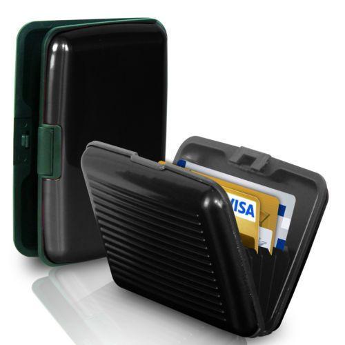 Кейс для кредитных карт Security Credit Card Wallet (цвет чёрный)