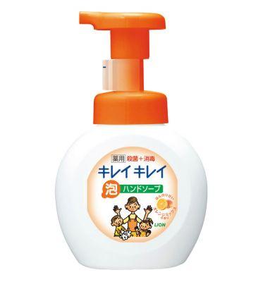 Пенное мыло для рук LION Kirei Kirei с ароматом апельсина