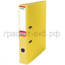 Файл А4 5см Berlingo желтый/карман ATb_50405