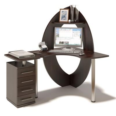 Компьютерный стол КСТ-101 + КТ-101.1 СОКОЛ