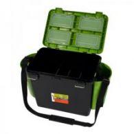 Ящик для рыбалки Helios FishBox 19л односекционный