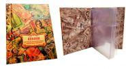 Альбом-папка на золоченных болтах ОБЩИЙ, на 33 банкноты