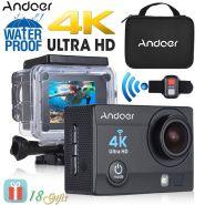 Видеорегистратор-экшн камера Andoer Q3H-R 4K+аквабокс