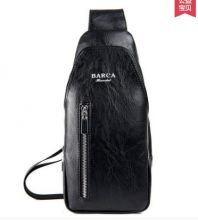 Мужская нагрудная сумка кошелек Barca hannibal черная