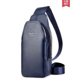 Мужская нагрудная сумка кошелек Barca hannibal Blue