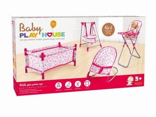 CS8849 Набор мебели для кукол Shantou Gepai  Baby Play House 4 в 1