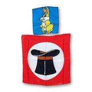 "Шёлковый набор ""Кролик из шляпы"" Silk 9 inch Rabbit from 18 inch Hat Silk"