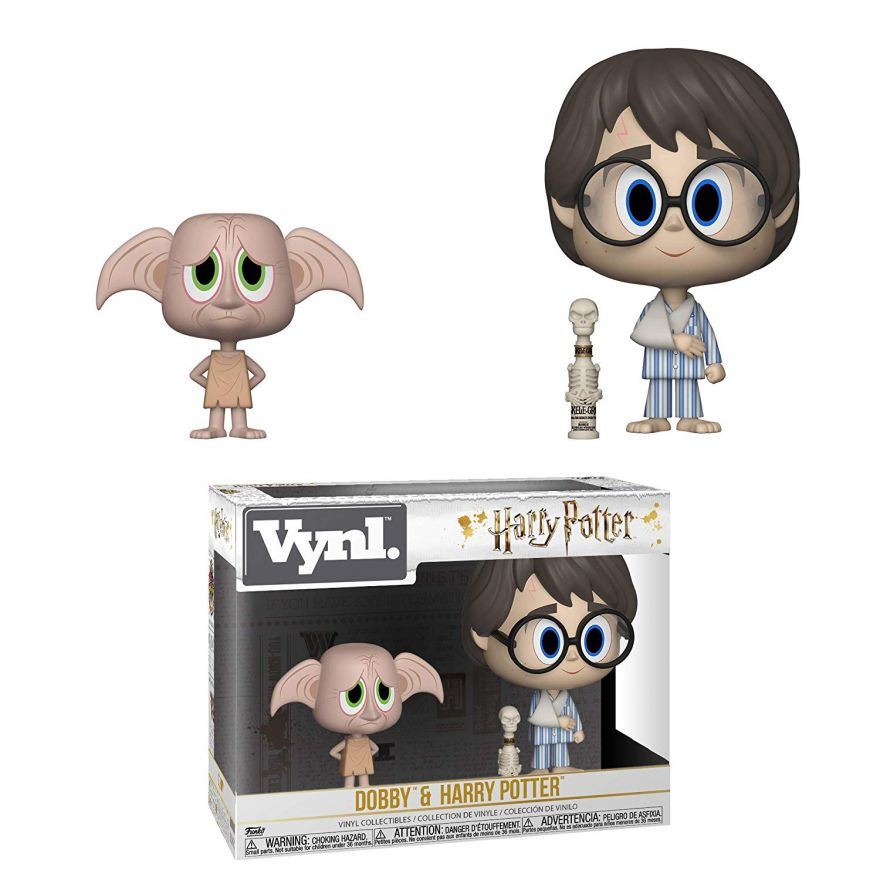 Фигурка Funko VYNL: Harry Potter S6: 2PK Dobby & Harry 31001