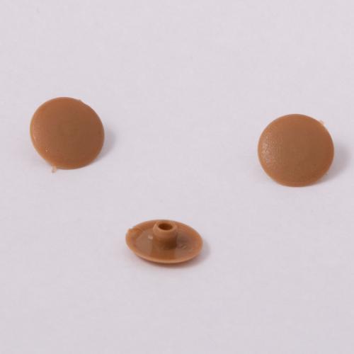 Заглушка для конфирмата №4 Желто-коричневая (Вишня Оксфорд)