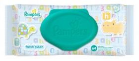 Uşaq Nəm Salfet Pampers Single New Baby Sensitive 64 ədəd