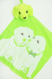 Полотенце детское хлопковое с рисунком (35*35) арт.  203517