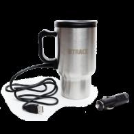 Автокружка BTrace 450 мл USB +12V