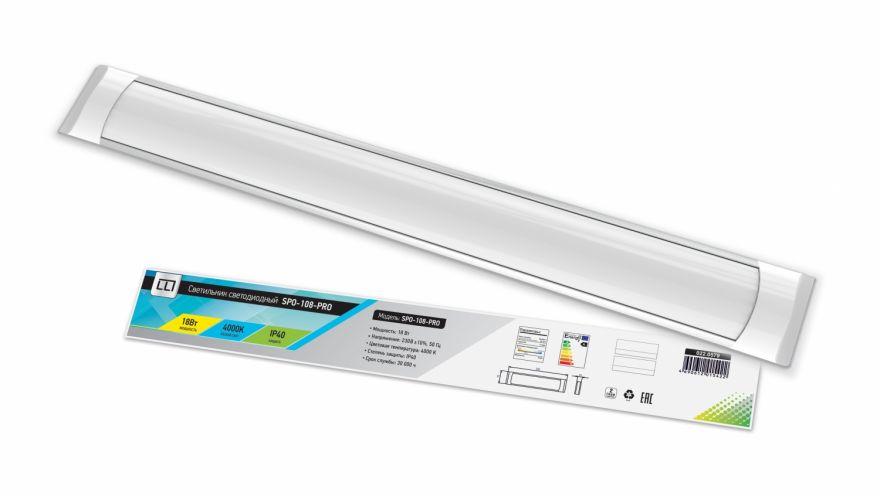 Светильник линейный ASD/LLT SPO-108-PRO 18W 4000K