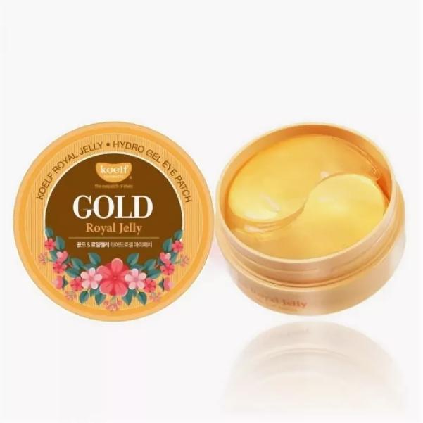 Гидрогелевые патчи для век KOELF Gold & Royal Jelly Eye Patch