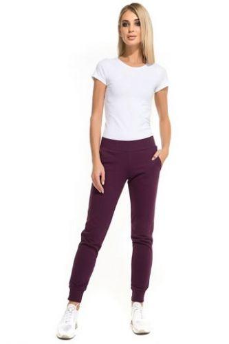 Женские спортивные брюки Easy & free баклажан