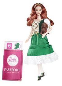 Кукла Барби Ирландия, серия Куклы мира, BARBIE