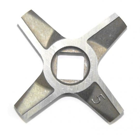 Нож №5 двухсторонний для мясорубок Bosch и Zelmer