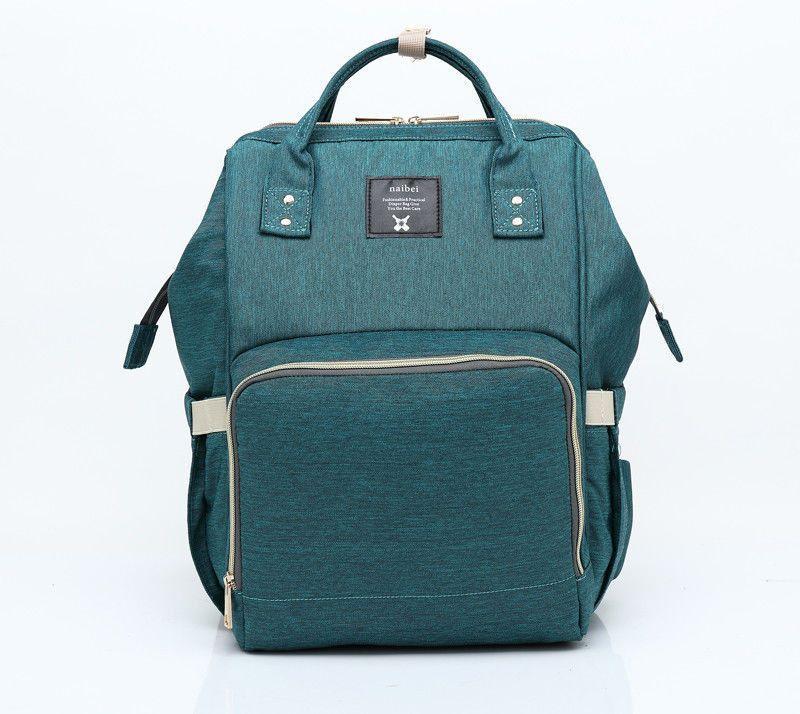 Сумка-рюкзак для мамы Baby Mo (MUMMY BAG), темно-зеленый
