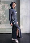макси платье Сова