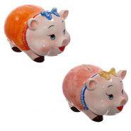"""Копилка """"Свинка"""", 19х14х14см, 2 вида в асс. (арт. 719297)"""