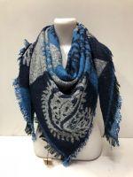 Персидские платки из натуральной 100% шерсти 140х140 см LV056