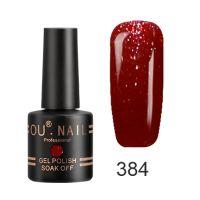Гель-лак №384 Ou Nail, 8 мл