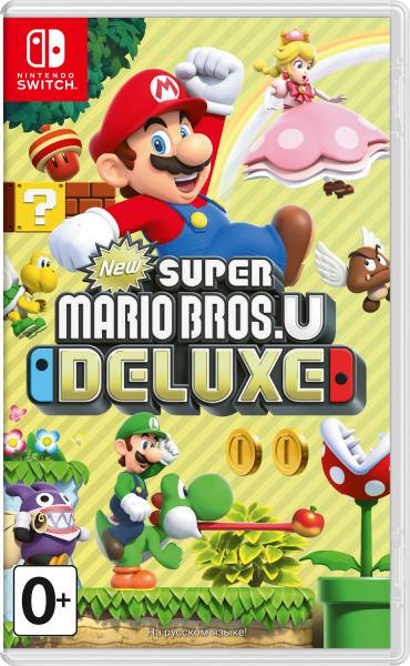 Игра New Super Mario Bros. U Deluxe (Nintendo Switch)
