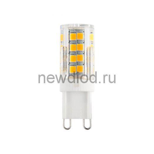 Лампа светодиодная LED-JCD-VC 3Вт 230В G9 3000К 270Лм IN HOME