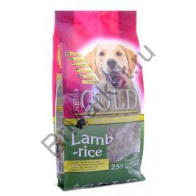 Корм для взрослых собак с ягненком и рисом